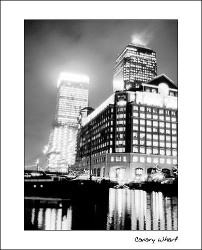 Canary Wharf by adamd