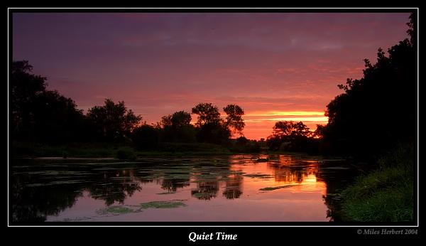 Quiet Time by Miles Herbert