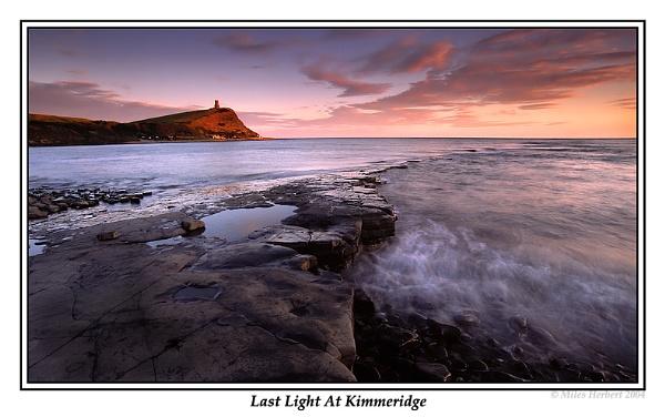 Last Light At Kimmeridge by Miles Herbert