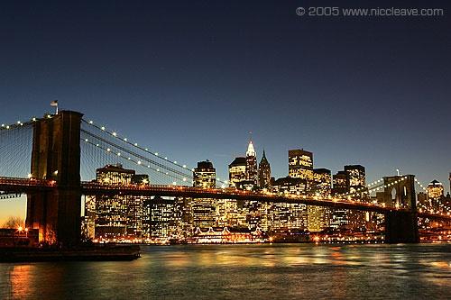 New York skyline by nicanddi
