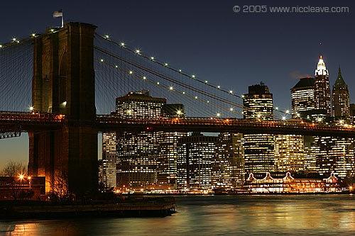 Brooklyn Bridge, NYC by nicanddi