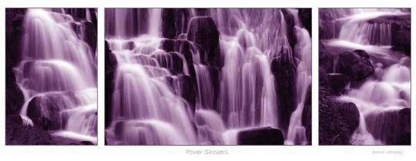 Purple Showers by jeanie