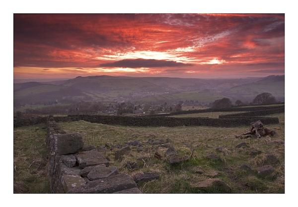 Sunset from Curbar Edge by ian.daisley