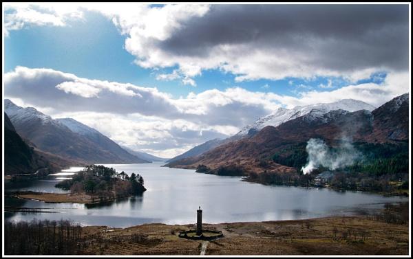 Glenfinnan Monument by Scottishlandscapes