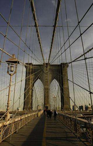 brooklyn bridge by owaint