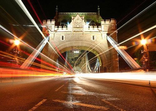 Tower Bridge at Night by mgerrard