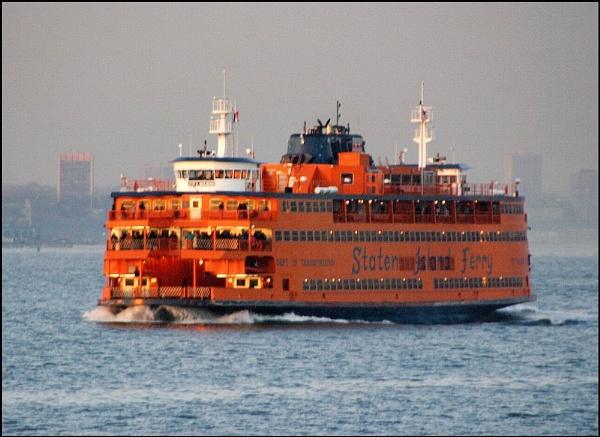 Staten Island Ferry by urban-hero
