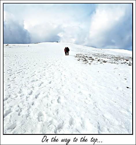 Climbing Skiddaw by michaeldt