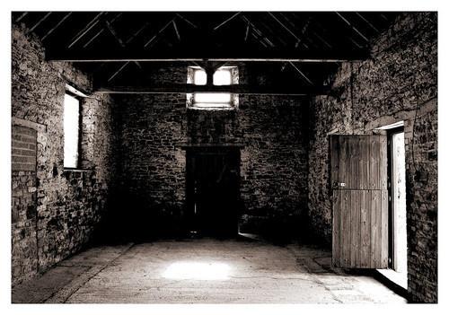 Spooky barn by Origami_Owl