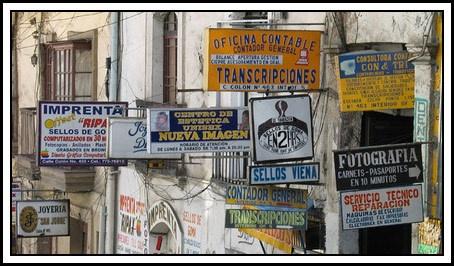 Photography Shops, La Paz by Skier