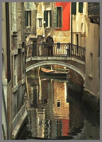 Venetian visitor by tonyvizard
