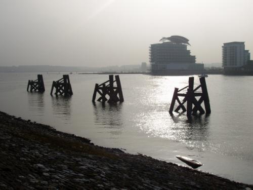 Cardiff Bay by Jahila