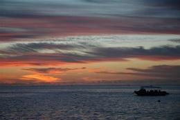 Layang Layang sunset