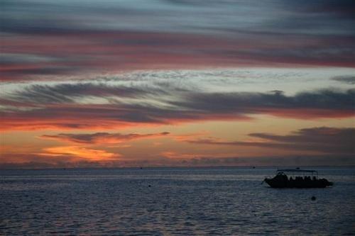 Layang Layang sunset by mariner