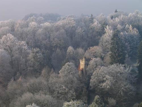 Misty Castle by Declan