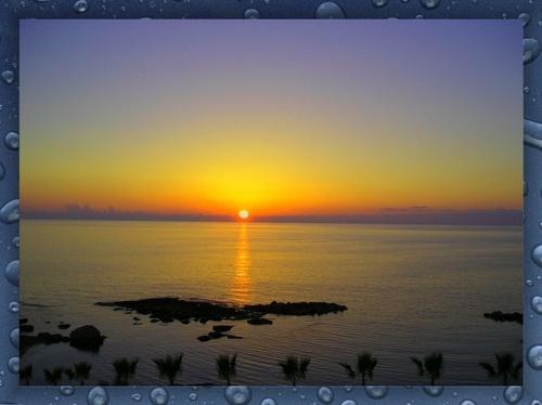 Hazy Sunset by KBan