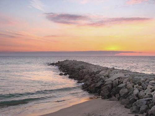 Costa sunset by Redbarron