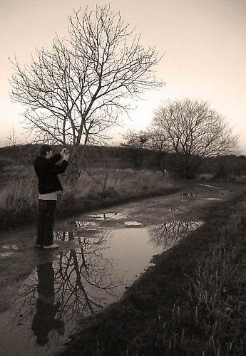 Photographers Reflection by wotashot