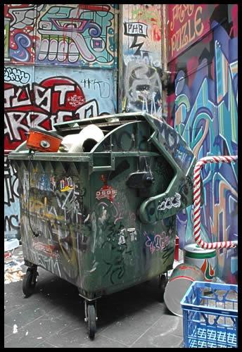 Alleyway art by patrickfarrell