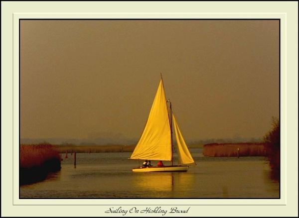 Sailing On Hickling Broad by Jimbob