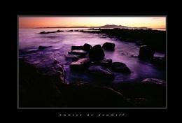 Sunset at seamill