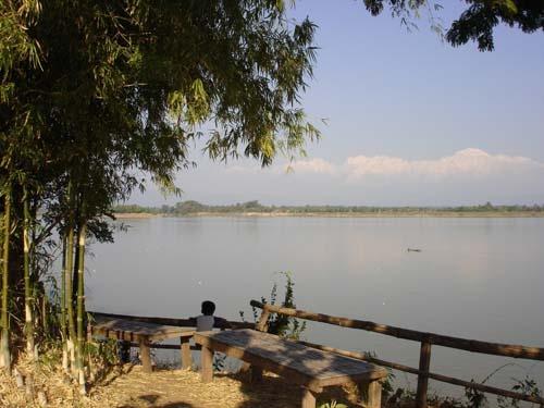 Champasak:  Lazy Day on the Mekong by jsuter