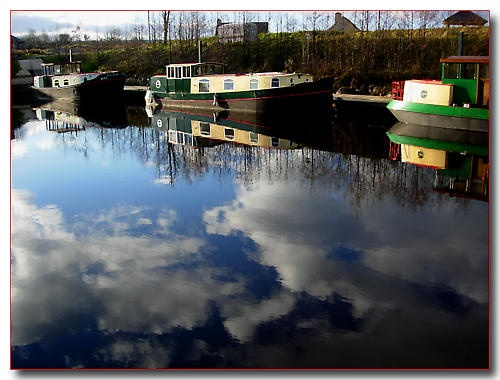 Reflections on the Shannon by Mavis