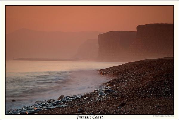 Jurassic Coast by Miles Herbert
