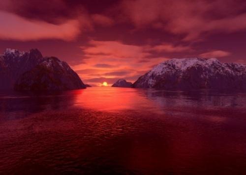 mountain sunset? by matta56