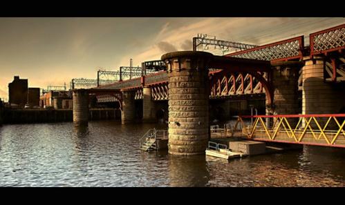 Glasgow Bridges by daviewat