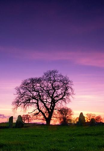 Sunset at Nine Stones Close by cdm36