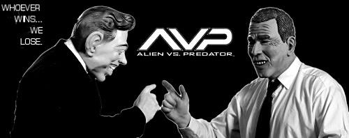 Alien vs Predator by mr chilli
