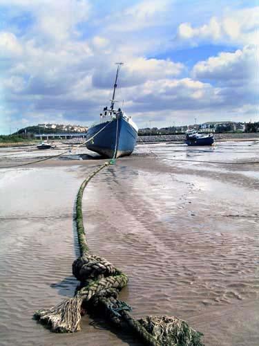 Awaiting the tide by franken