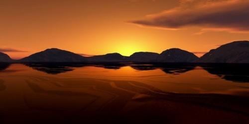 loch sunset by matta56
