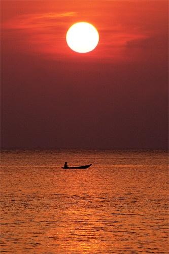 Thai Sunset by clarkycat