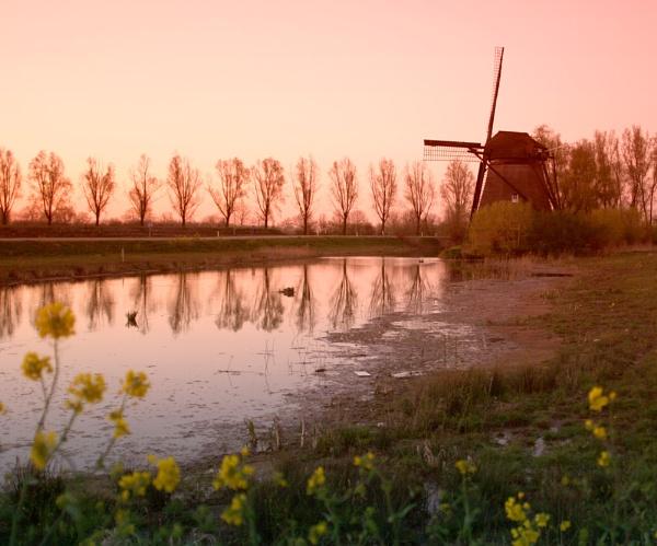 Geldermalsen Windmill by conrad
