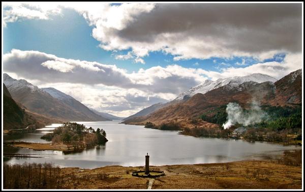Glenfinnan repost by Scottishlandscapes