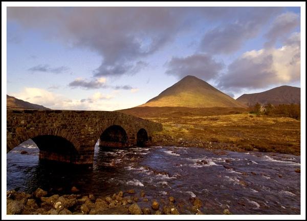 Sunset at Sligachan by Scottishlandscapes