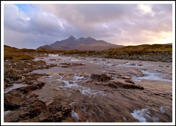 Sligachan sunset, Skye by Scottishlandscapes