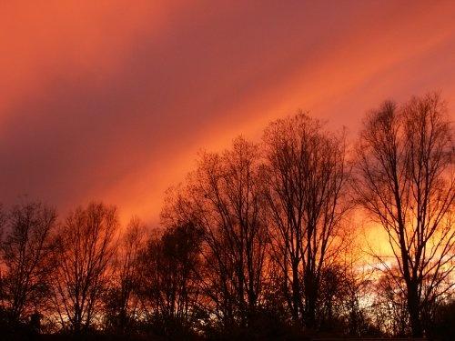 Swindon sunset by beeapi