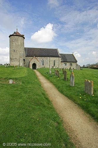 Old Norfolk church by nicanddi