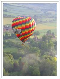 Ballon over Dorset