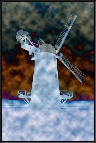 Weird Windmill by dna