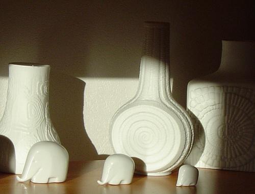 White Elephants by Poziomka