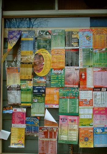 International Phone Cards by kombizz