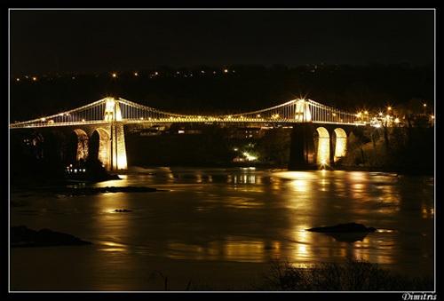 Menai Bridge Anglesey by Dimitris