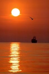 Marmara sunset