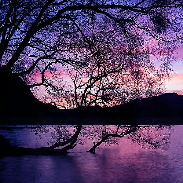 Llyn Dinas, April Sunrise by mrarth