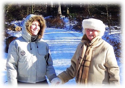 fun with grandma by Poziomka