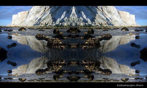 Kaleidoscopic Shore by deegee